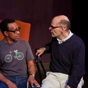 Jimmy Carrane and Tim Meadows