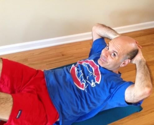Jimmy Carrane sit-ups
