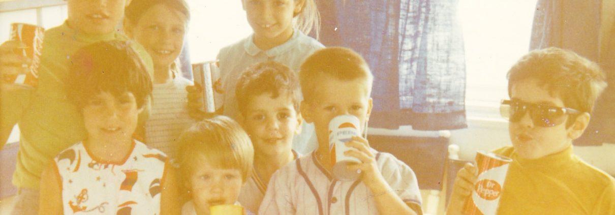 Jimmy Carrane as a kid